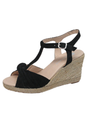 Eric Michael Edie T Strap Espadrille - Front cropped