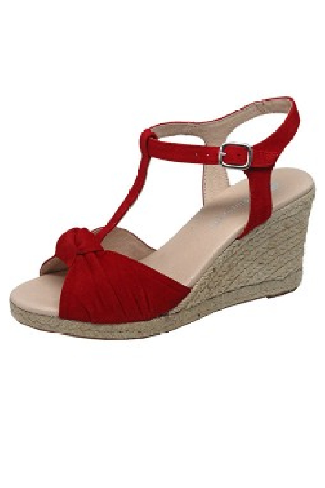 Eric Michael Edie T Strap Espadrille - Front Cropped Image
