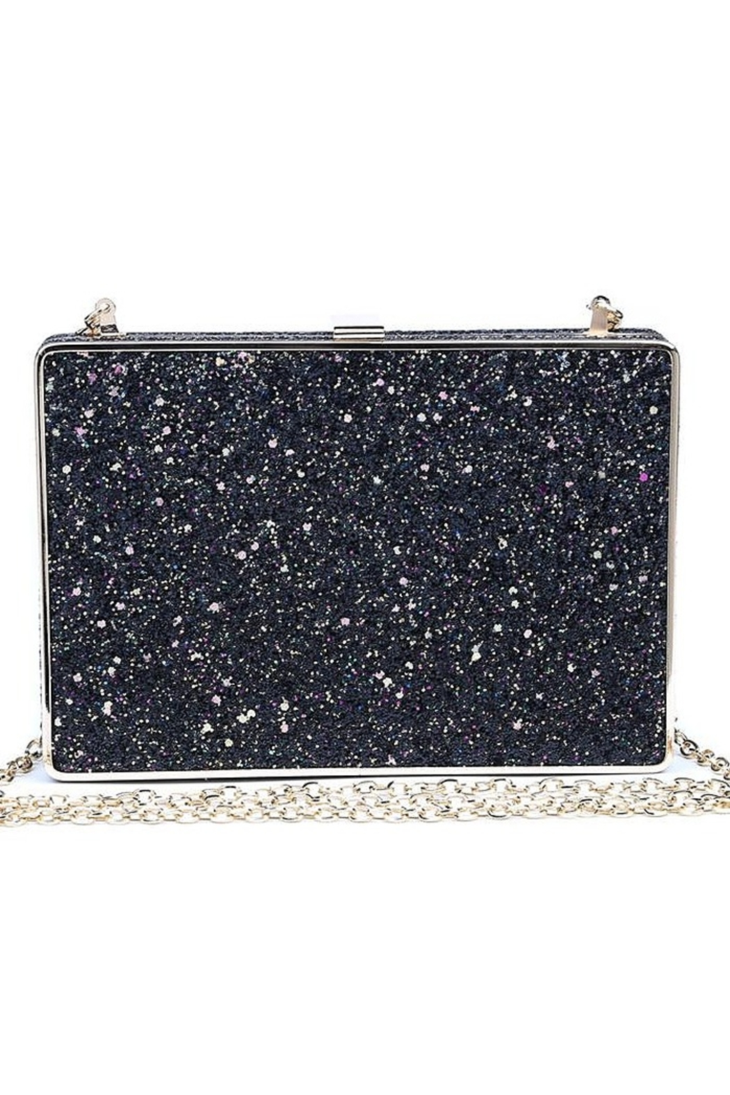 Urban Expressions Edith Glitter Clutch - Side Cropped Image