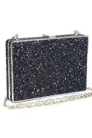 Urban Expressions Edith Glitter Clutch - Front full body