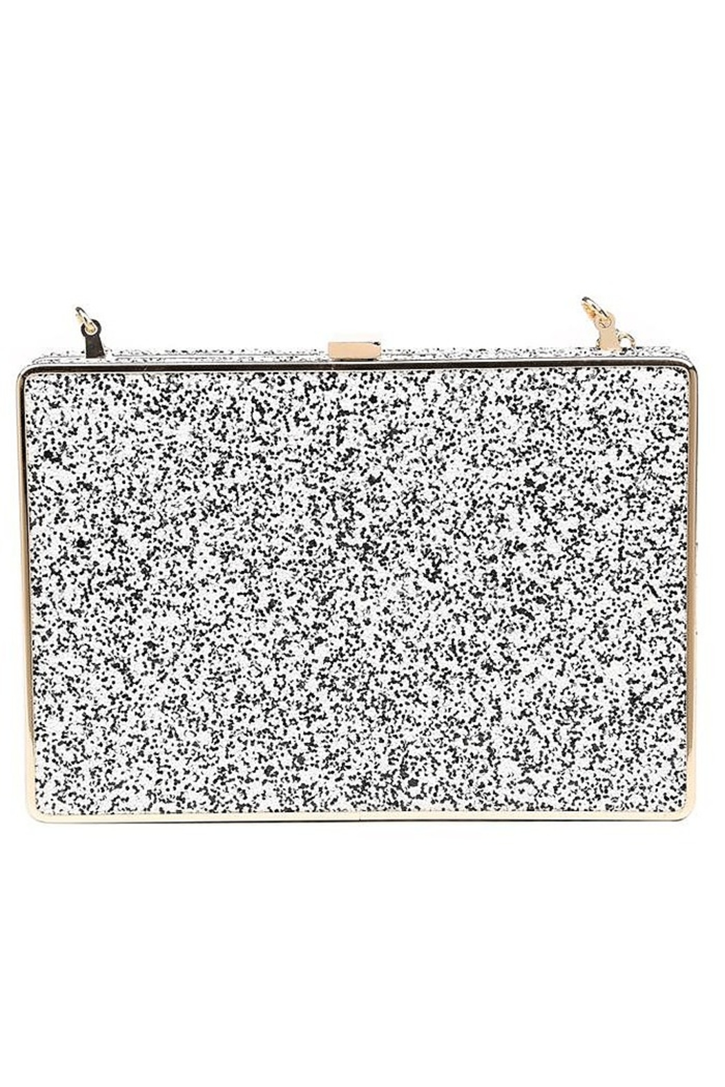 Urban Expressions Edith Glitter Clutch - Front Cropped Image