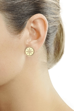 Eduardo Sanchez Gold Studs - Alternate List Image
