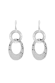 Eduardo Sanchez Intertwined Silver Earrings - Front cropped
