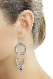 Eduardo Sanchez Intertwined Silver Earrings - Other