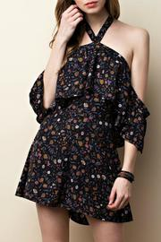 ee:some Buttercup Halter Romper - Front full body