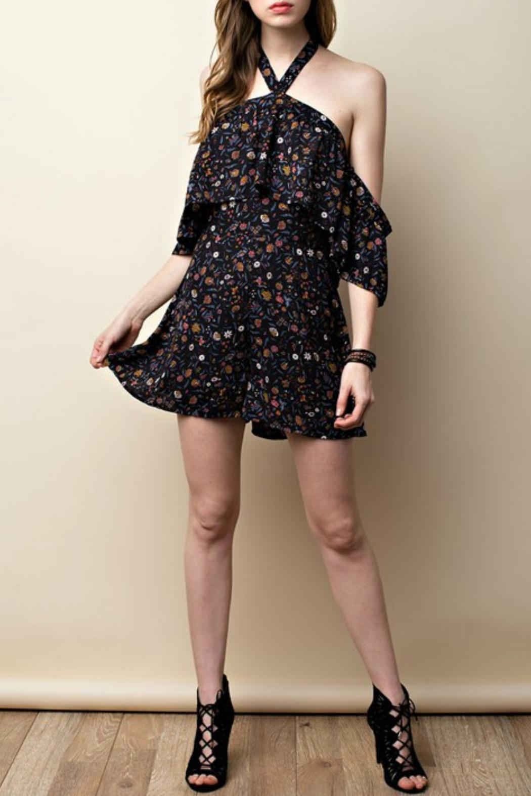 ee:some Buttercup Halter Romper - Main Image