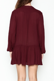 ee:some Button Down Tunic Dress - Back cropped