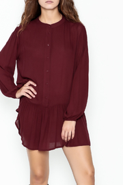 ee:some Button Down Tunic Dress - Front cropped