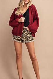 ee:some Chenille Chunky Cardigan - Side cropped
