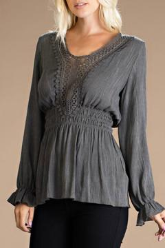 ee:some Crochet Detail Top - Product List Image