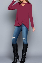 ee:some Dusty Wine Top - Front cropped