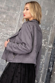 ee:some Faux Suede Moto Jacket - Other