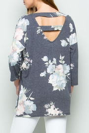 ee:some Floral Print Ladder - Front full body