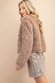 ee:some Fuzzy Open Front Coat - Other