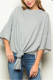 ee:some Grey Tunic - Front cropped