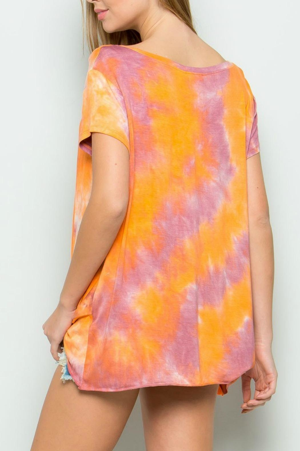 ee:some Joey Tiedye Top - Front Full Image
