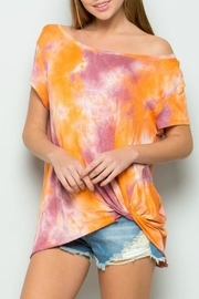 ee:some Joey Tiedye Top - Product Mini Image