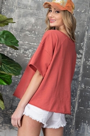 ee:some Keep It Casual - Back cropped