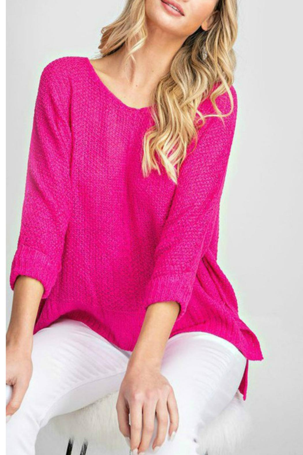 ee:some Kensington Knit Top - Front Cropped Image