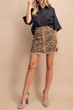 ee:some Leopard Zipper Skirt - Product List Image