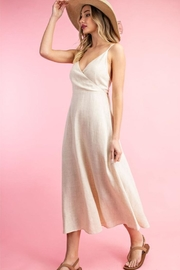 ee:some Linen A-Line Dress - Side cropped