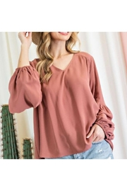 ee:some Long Sleeve Blouse - Product Mini Image