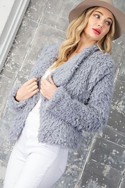 ee:some Long Sleeve Soft Knit Sweater With Pockets - Back cropped