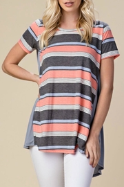 ee:some Striped Tunic Top - Product Mini Image