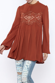 ee:some Reagan Lace Top - Product Mini Image