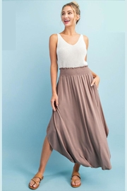ee:some Smocked Maxi Skirt - Product Mini Image