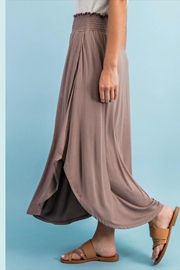 ee:some Smocked Maxi Skirt - Back cropped