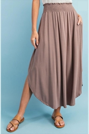 ee:some Smocked Maxi Skirt - Side cropped