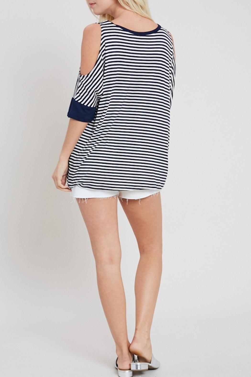 ee:some Striped Top - Front Full Image