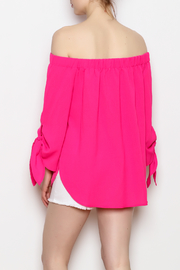 ee:some Tie Sleeve Top - Back cropped