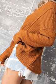 ee:some V Neck Sweater - Front cropped