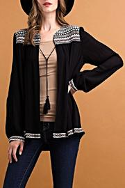 ee:some Wide Cut Blouse Jacket - Front full body