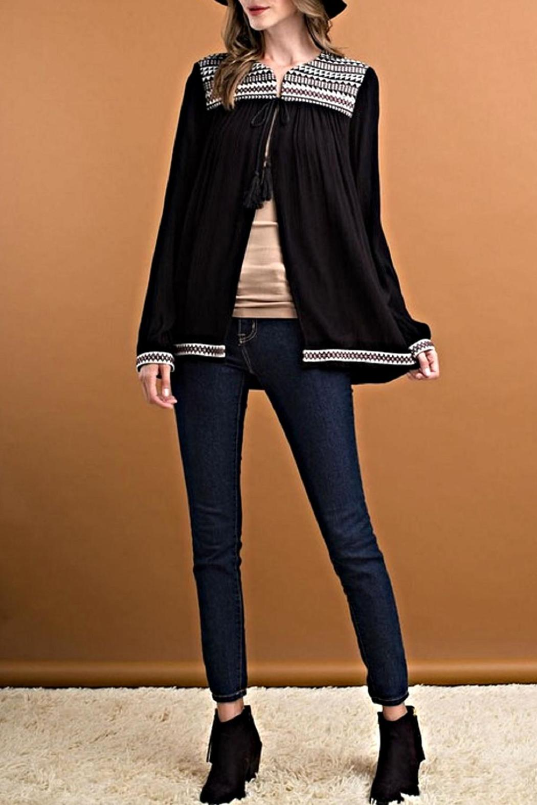 ee:some Wide Cut Blouse Jacket - Main Image