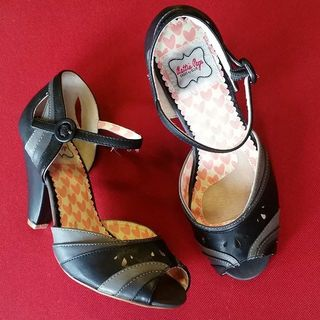 Shoptiques Product: Black and Gray Heel