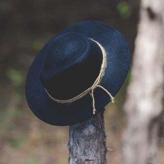 Shoptiques Product: Flat Brim Blue Hat