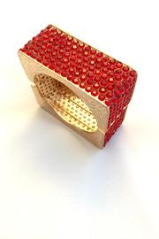 Bling Bling Sisters Red Square Bracelet - Product Mini Image