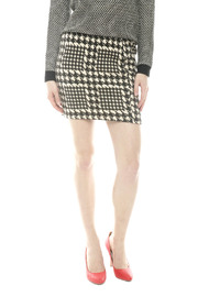 Shoptiques Product: Printed Elastic Waist Skirt