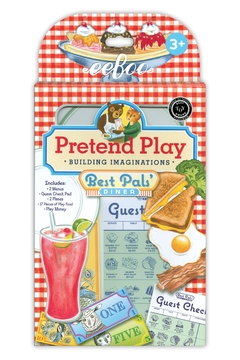 Eeboo Restaurant Pretend Set - Product List Image