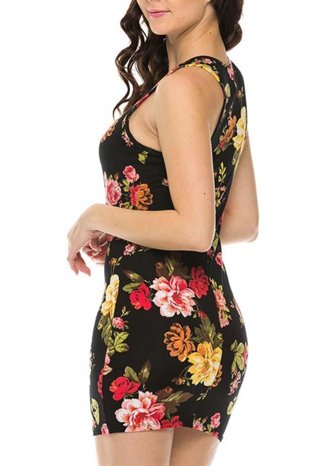 Ambiance Apparel Floral Bodycon Dress From Oregon By My