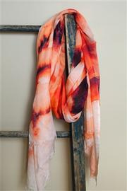 Eesme Abstract Motif Scarf - Product Mini Image