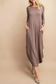 eesome Anika Pocketed Maxi Dress - Product Mini Image