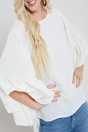 eesome Boho Bell-Sleeve Top - Product Mini Image
