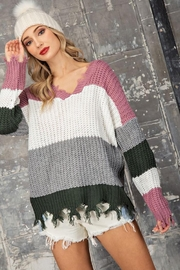 eesome Distressing Details Sweater - Other