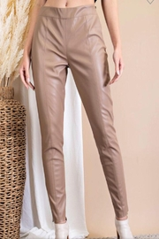 eesome Faux Leather Pants - Product Mini Image