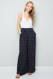 eesome Geo Palazzo Pants - Front full body