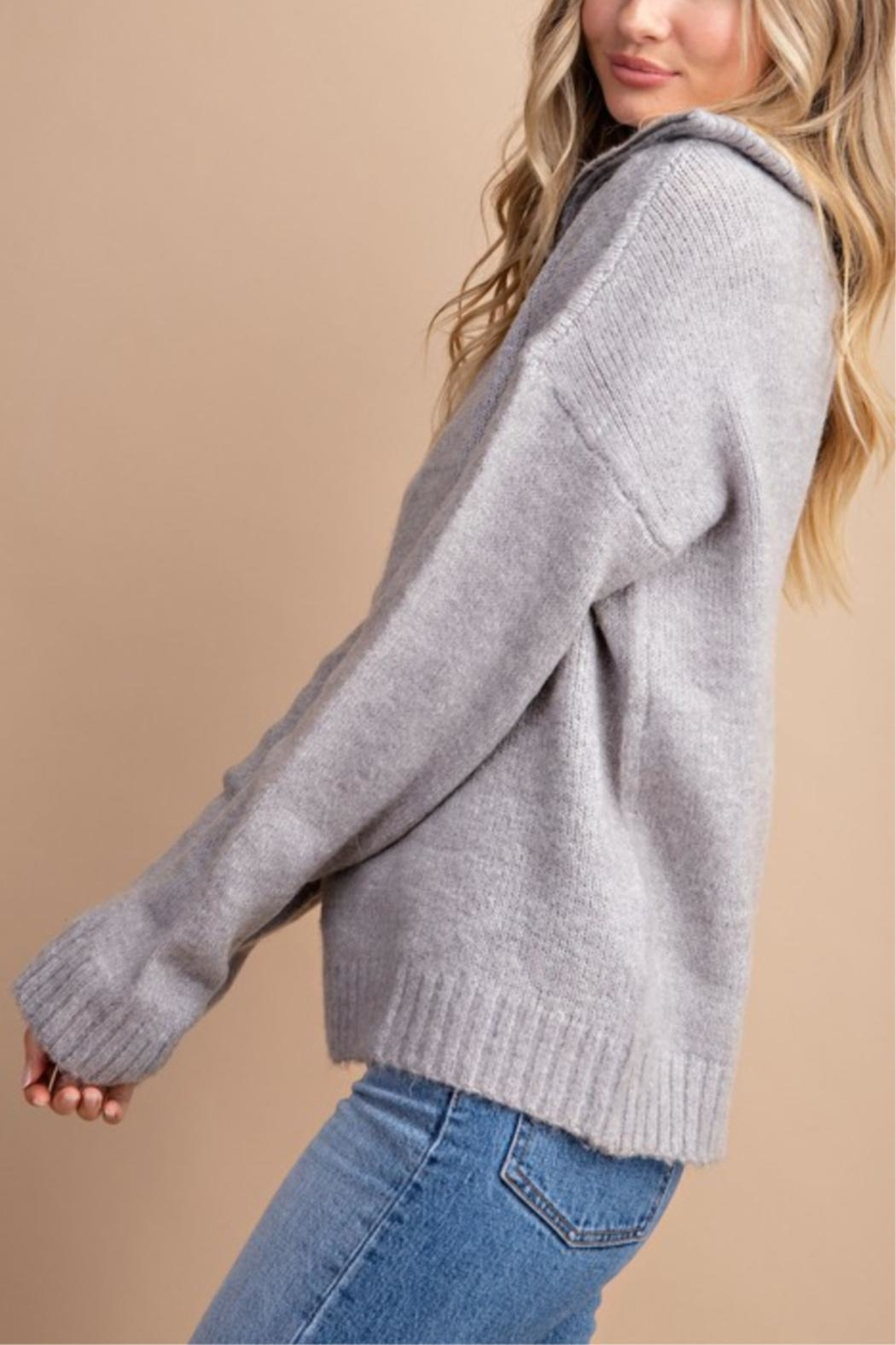 eesome High Hopes Sweater - Side Cropped Image
